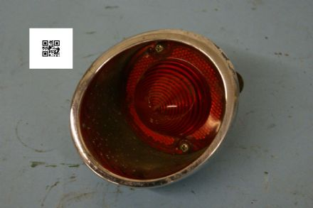 1963-1967 C2 Corvette,Rear Tail Light Right Hand Outer,GM 5954228, Used Poor